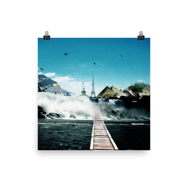 I want to go where I want -Photo paper poster-02