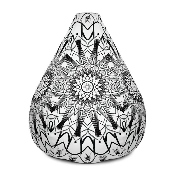 pattern mandala 01 – All-Over Print Bean Bag Chair w/ filling