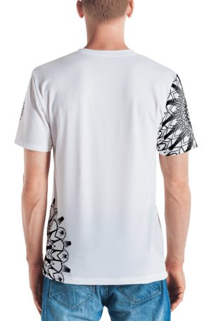 pattern mandala 01 - all over print Men's T-shirt - 3