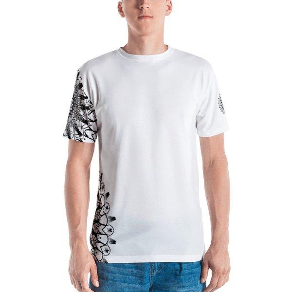 pattern mandala 01 - all over print Men's T-shirt - 4