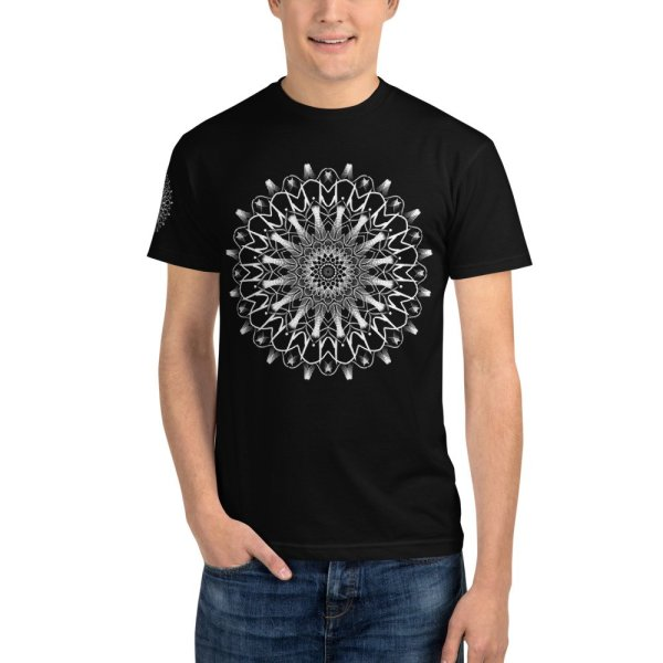 pattern mandala 01 -Sustainable T-Shirt-front