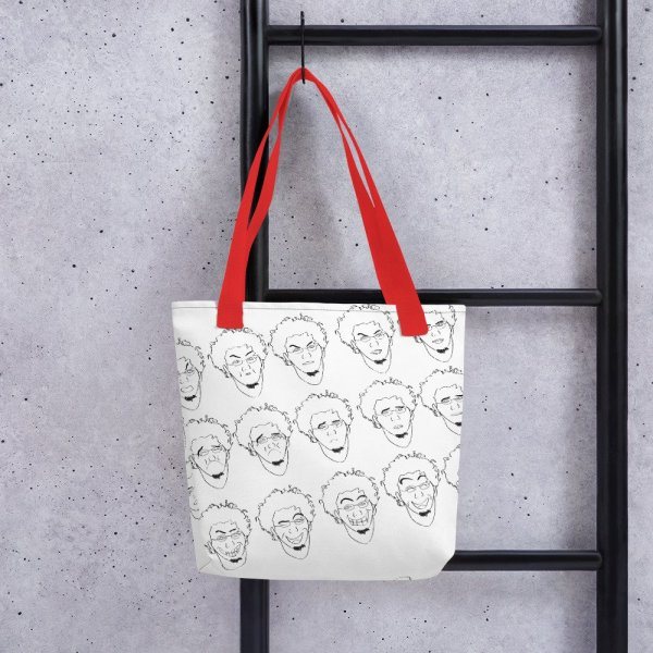 Some of Facial Expressions - Tote bag - Red