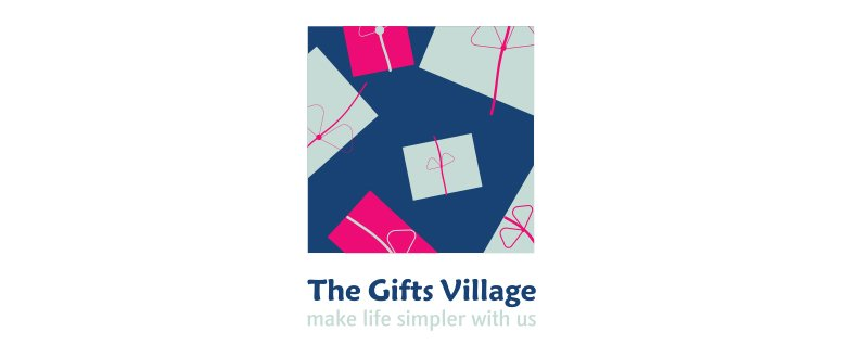 Thegiftsvillage Logo Variation 01