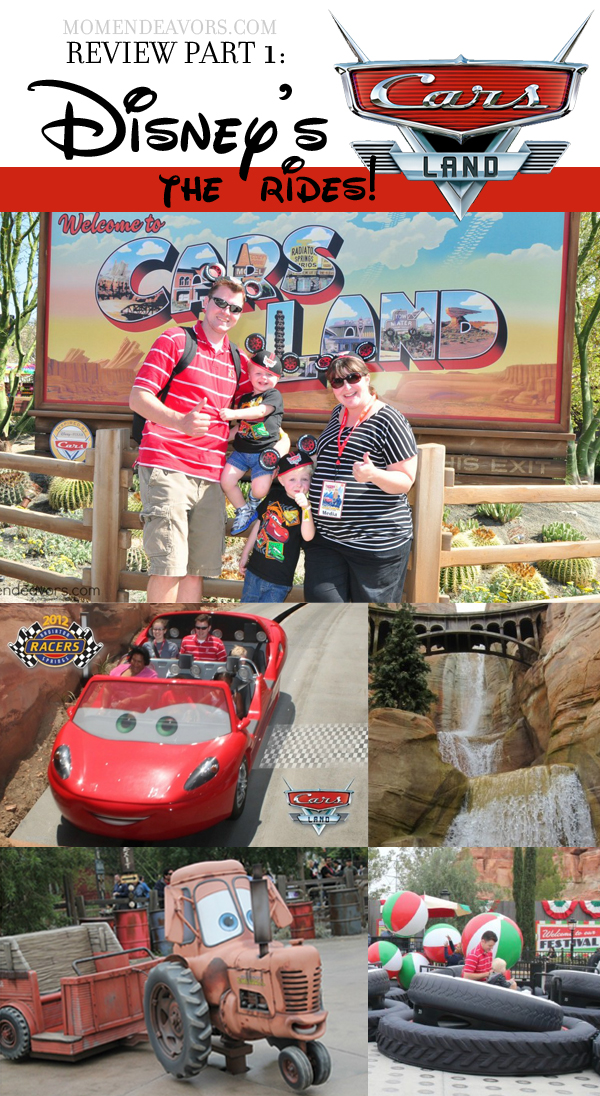 Get Ready to be Floored Cars Land Attractions at Disney California Adventure Park Review Part