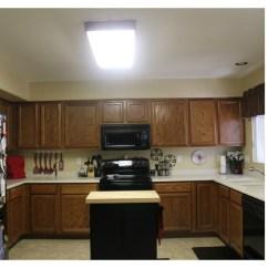 Fluorescent Kitchen Lighting Ideas Island Sink Mini Remodel – New Makes A World Of ...