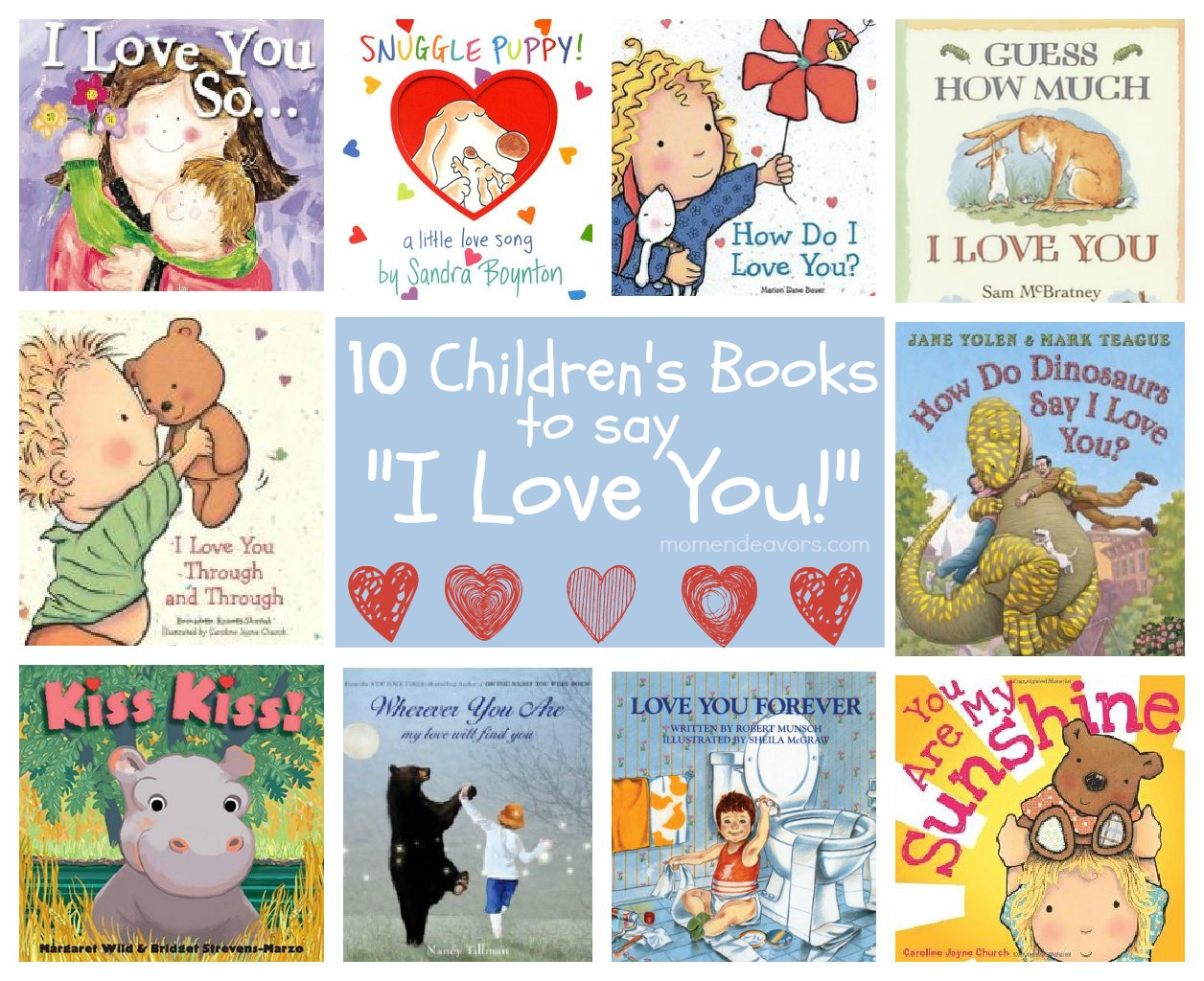 Childrens Books To Say I Love You