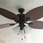 Patio Lighting Ceiling Fan Makeover Lowescreator Mom Endeavors