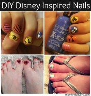 diy disney-inspired nail art #iheartmynailart