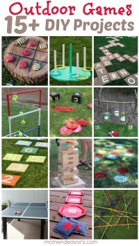 DIY Outdoor Games  15+ Awesome Project Ideas for Backyard ...