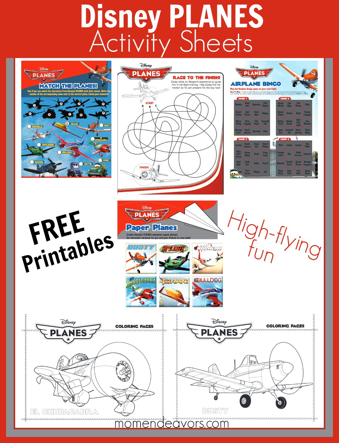 Disney Planes Fire Amp Rescue Printable Activities