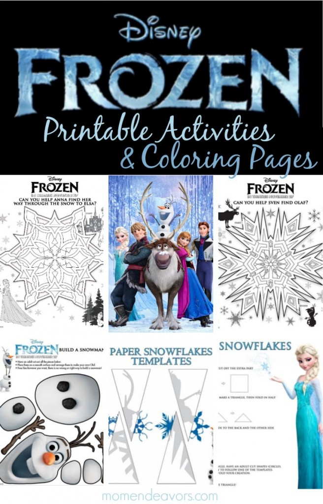 Olaf Frozen Coloring Sheets