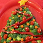 Christmas Tree Veggie Tray Mom Endeavors