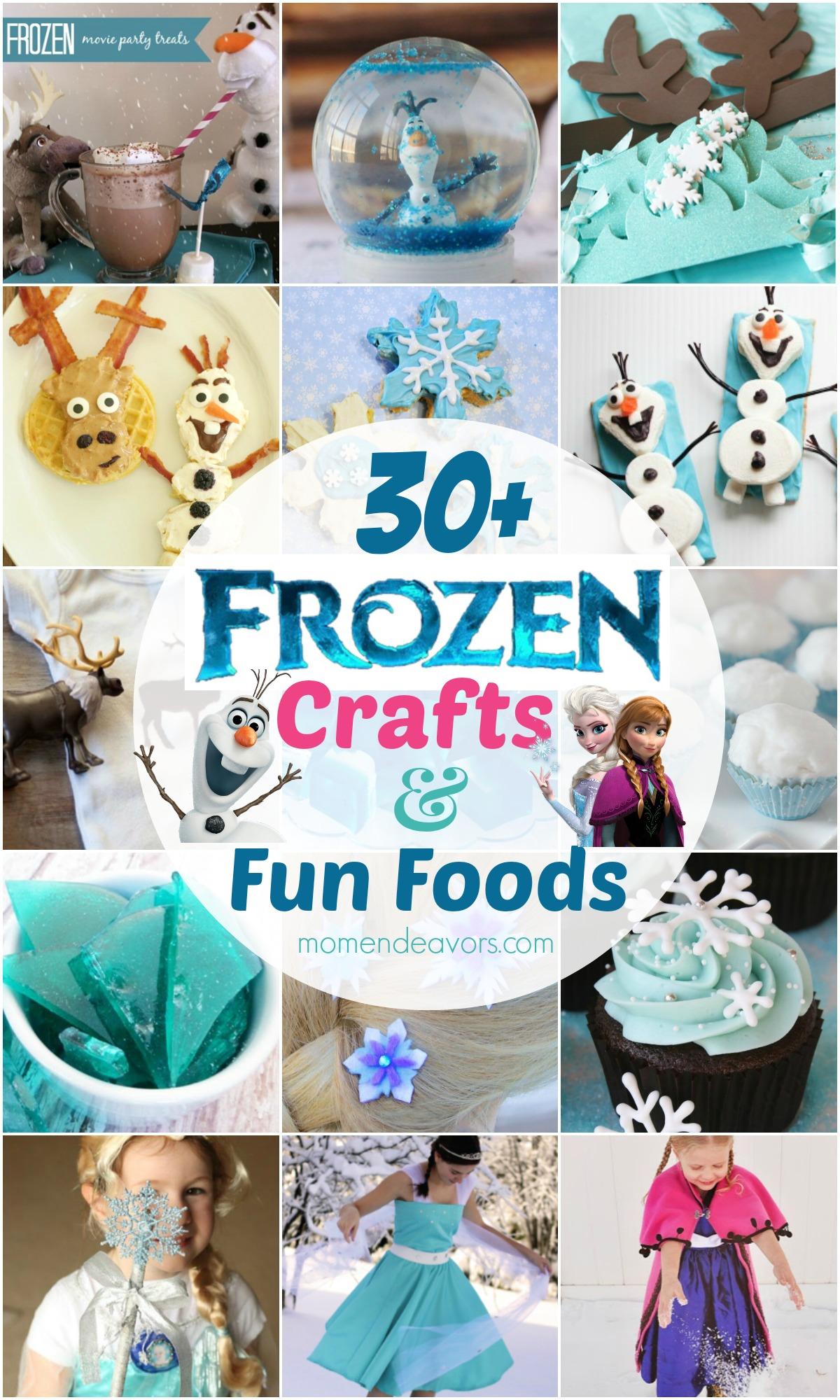 30 Disney Frozen Crafts Amp Fun Food Ideas