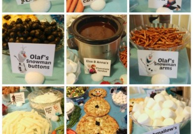 Frozen Party Ideas Food