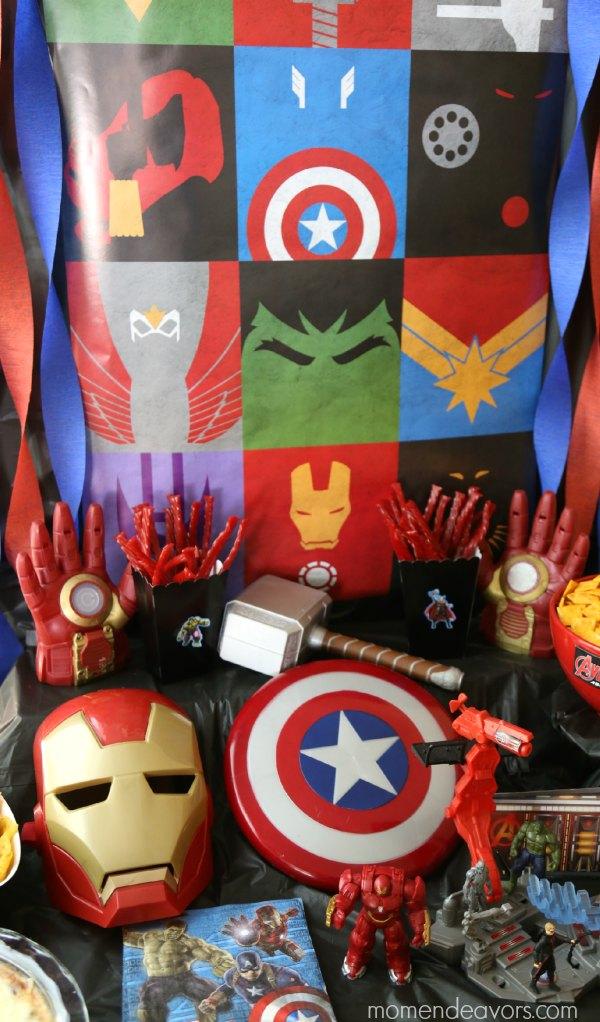 Avengers Party  Superhero Activities & Fun Food Ideas