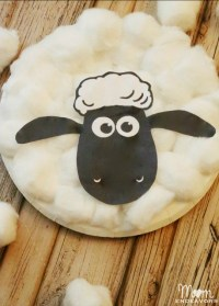 SHAUN THE SHEEP Movie Crafts & Free Printable Activity Sheets