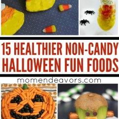 Kid Kitchens Apartment 15+ Non-candy, Healthier Halloween Fun Food Ideas
