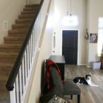 How To Paint An Oak Banister Black Mom Endeavors