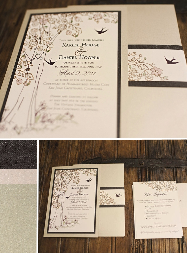 Teal Cutout Wedding Invites Style Me Pretty