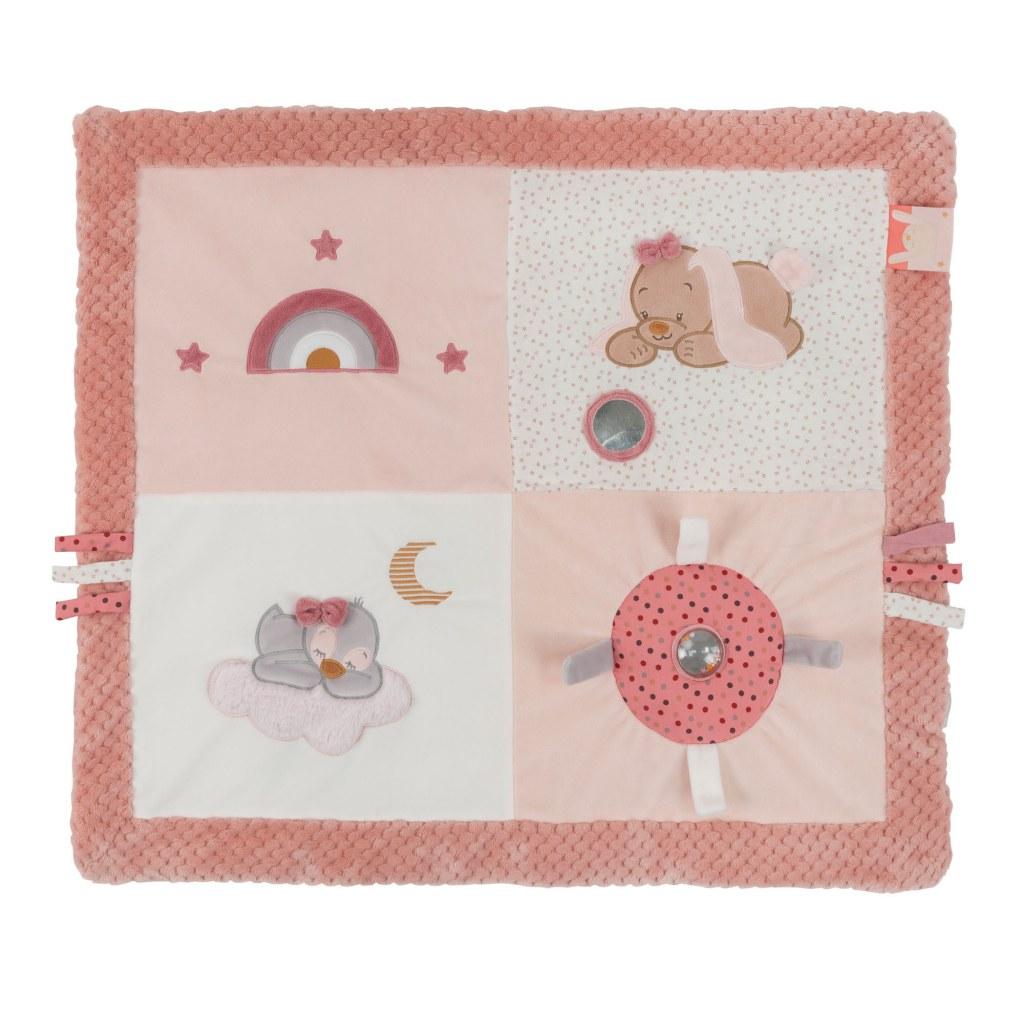 tapis d eveil avec arches sasha pauline nattou