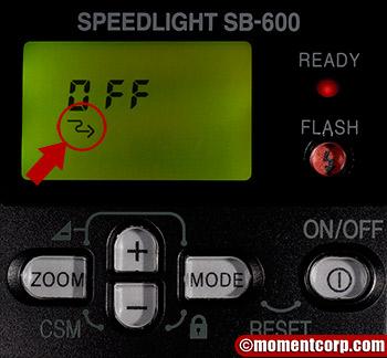 SB-600 custom menu