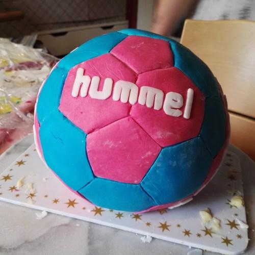 der 10. Geburtstag (wieder) mit Handball und diesmal auch noch mit Übernachtung