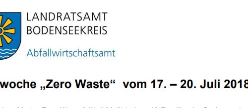 Zero Waste Tage in Friedrichshafen