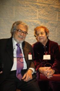 Leon Fleisher and Moment senior editor Eileen Lavine