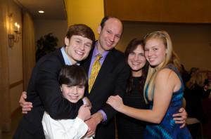 Barton Runbenstein and family