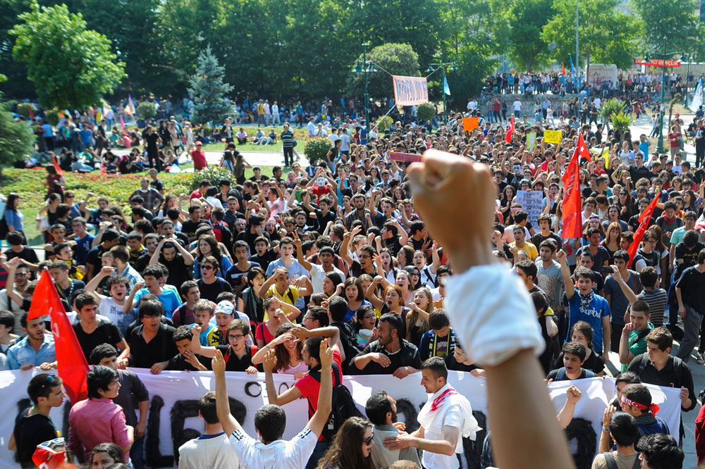Massive protests erupted in 2013 when the Turkish government tried to turn Istanbul's Gezi Park into a shopping center.