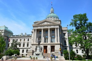 Indiana State House, courtesy of Shutterstock