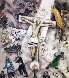 1 - 1938. Chagall. White Crucifixion