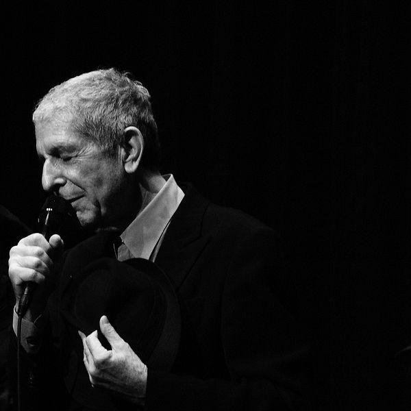 Leonard Cohen. Credit: Wikimedia Commons
