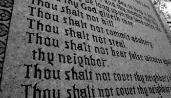 Interpreting The Peculiar Tenth Commandment
