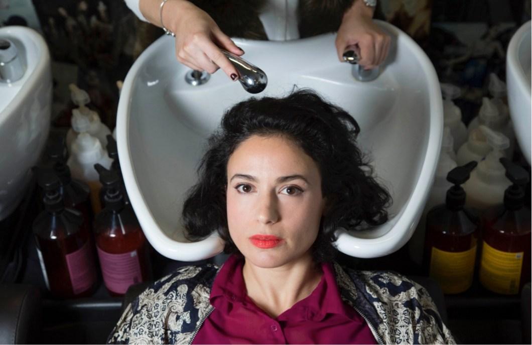 Iris Zaki Women in Sink