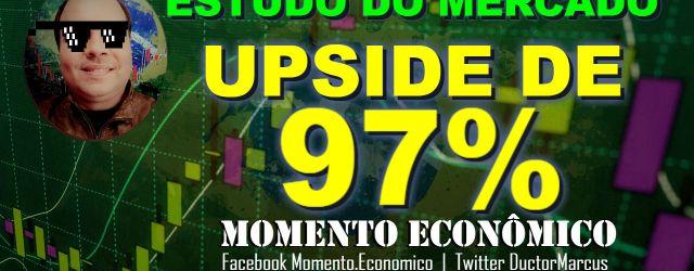 """<div class=""""at-above-post-homepage addthis_tool"""" data-url=""""http://www.momentoeconomico.com.br/2017/estudo-mercado-ativo-upside-97-porcento-01-08-2017/""""></div>Momento Econômico estudo sobre o mercado financeiro, Bovespa, VALE5, PETR4, ITUB4, BBAS3, EWZ, INDICE FUTURO, INDQ17, MRVE3, CSNA3, PETRÓLEO, BRENT, OIL. Oportunidades de Mercado com potenciais de até 97%.   – Ductor Marcus – Inscreva-seno canalYouTubepara interações deDayTrade ao […]<!-- AddThis Advanced Settings above via filter on wp_trim_excerpt --> <!-- AddThis Advanced Settings below via filter on wp_trim_excerpt --> <!-- AddThis Advanced Settings generic via filter on wp_trim_excerpt --> <!-- AddThis Share Buttons above via filter on wp_trim_excerpt --> <!-- AddThis Share Buttons below via filter on wp_trim_excerpt --> <div class=""""at-below-post-homepage addthis_tool"""" data-url=""""http://www.momentoeconomico.com.br/2017/estudo-mercado-ativo-upside-97-porcento-01-08-2017/""""></div><!-- AddThis Share Buttons generic via filter on wp_trim_excerpt -->"""