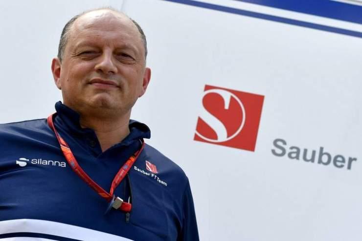 Frederic Vasseur, Jefe de Equipo para Sauber.