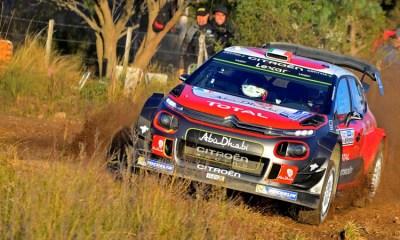 Breen en el Rally Argentina 2017