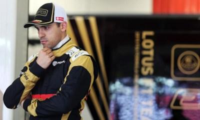 Maldonado, cuando corría en Lotus