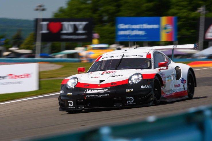 Porsche, tercero en Watkins Glen