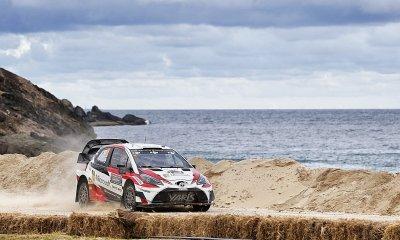Toyota en el Rally Australia 2017