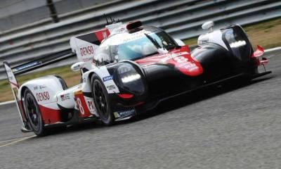 El Toyota TS050 de Alonso