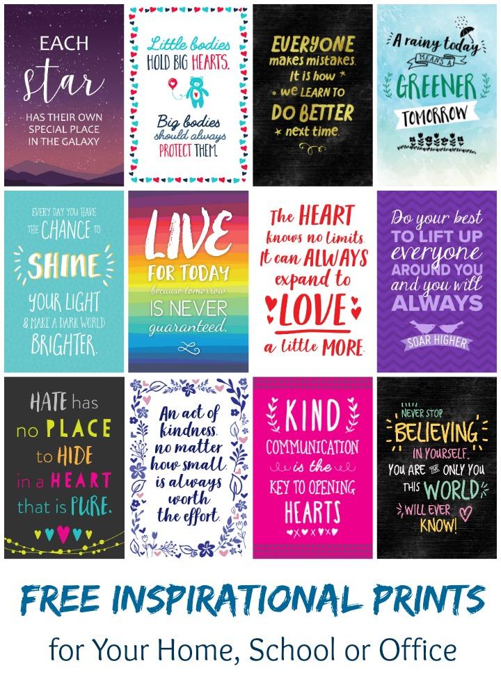 free inspirational 6x4 prints