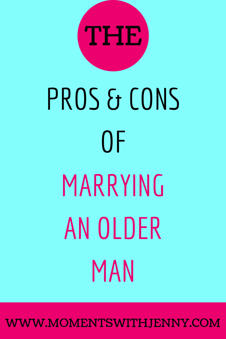 Guide to dating an older man pros