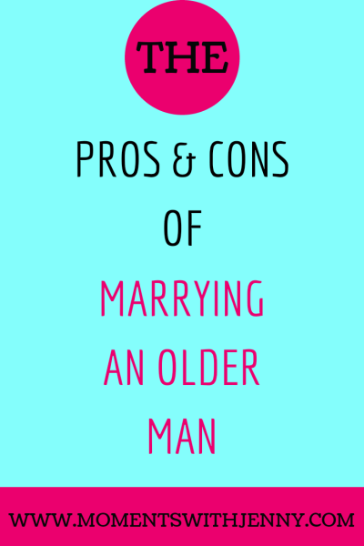 Marrying an older man