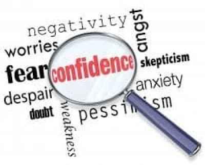 confident person