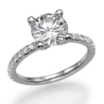 Ballerina Affordable engagement rings