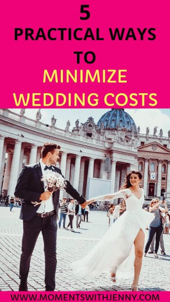 How to minimize wedding costs