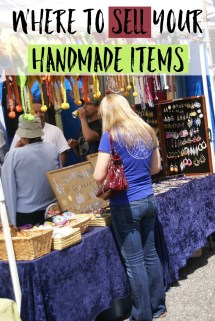 7 Places Sell Handmade Items - Moments With Mandi