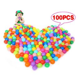 100 Soft Playballs for Babies in 7 Vibrant Colors